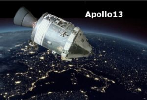Apollo 13 Service Management Simulatie